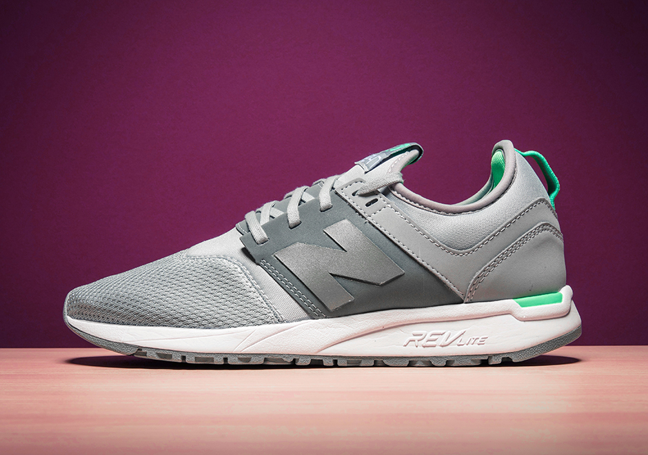 new balance 247 trainers in pink