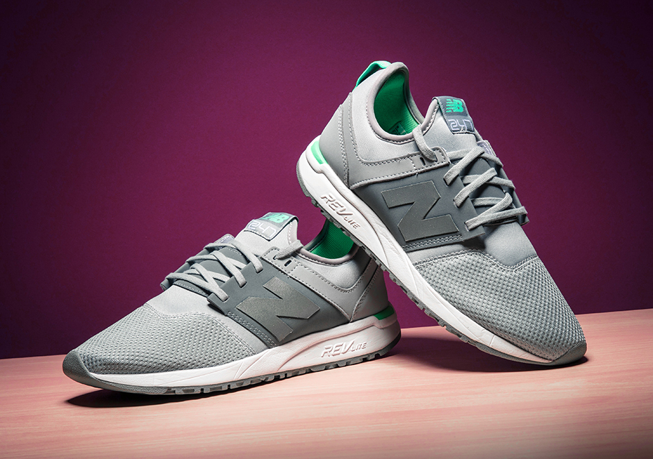 new balance 247 grey and green
