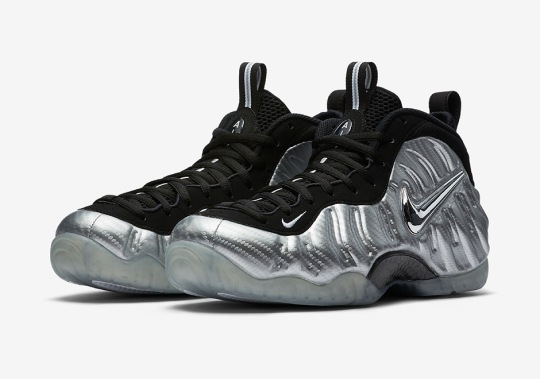 """Official Images of the Nike Air Foamposite Pro """"Silver Surfer"""""""
