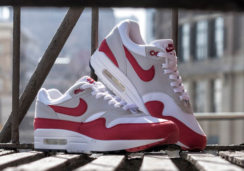 69d56af5fb Where To Buy Nike Air Max 1 OG Sport Red | SneakerNews.com
