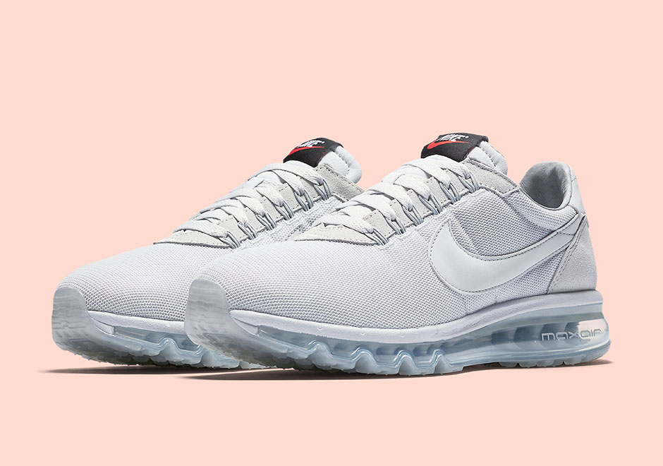 Nike WMNS Air Max LDZero Triple White Release Date March 26th 2017 180 Color WhiteWhiteWhite