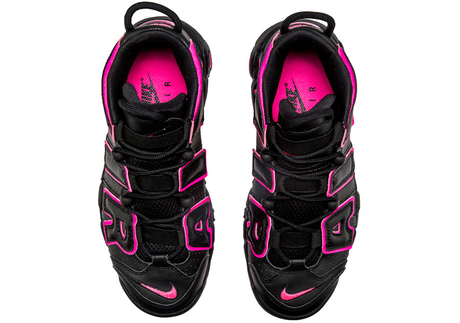 Nike Air More Uptempo Black Pink 415082