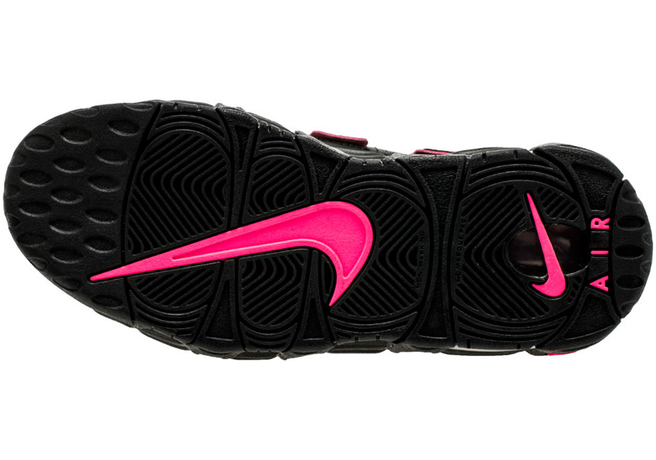 quality design d7928 f50a8 Nike Air More Uptempo Black Pink 415082-003 | SneakerNews.com