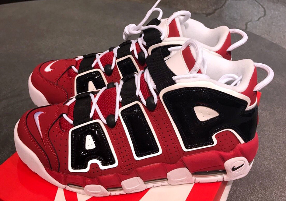 "reputable site 2f974 9b1ae The ""Bulls"" Nike Air More Uptempo Is Finally Coming Back in Men s Sizing"