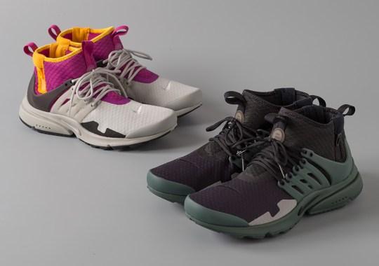 The Nike Air Presto Mid Utility SP Has Some ACRONYM Flair