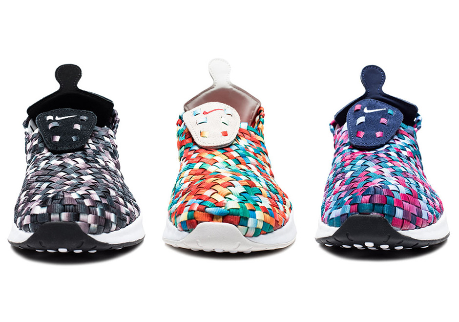 Nike Releases The Air Woven In A Trio Of Colorful Options