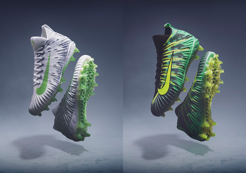 best sneakers f734f 56efe No, theyre not putting grass in this PE like they did for Odell Beckham,  but the Nike Alpha Menace Elite introduces a new cleat ...