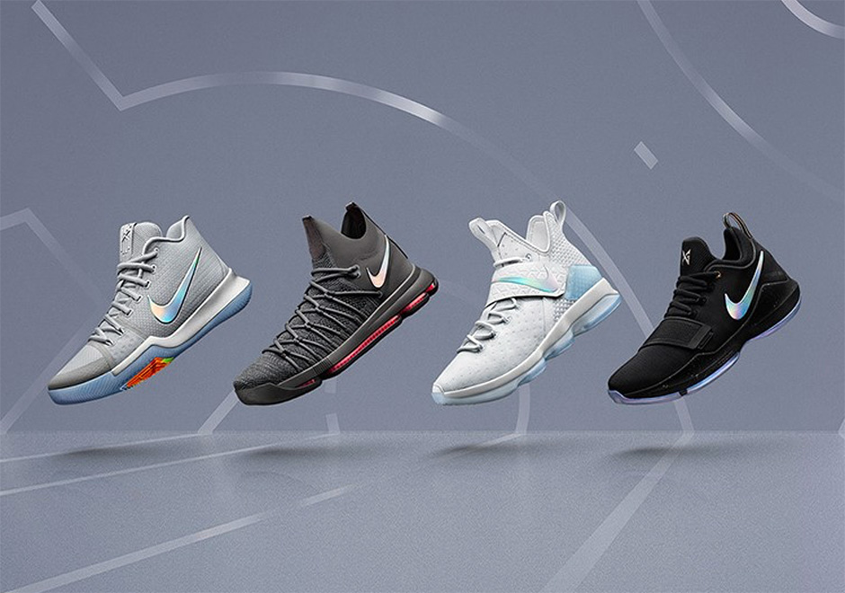 "The Nike Basketball ""Time To Shine"" Pack Drops This Weekend"