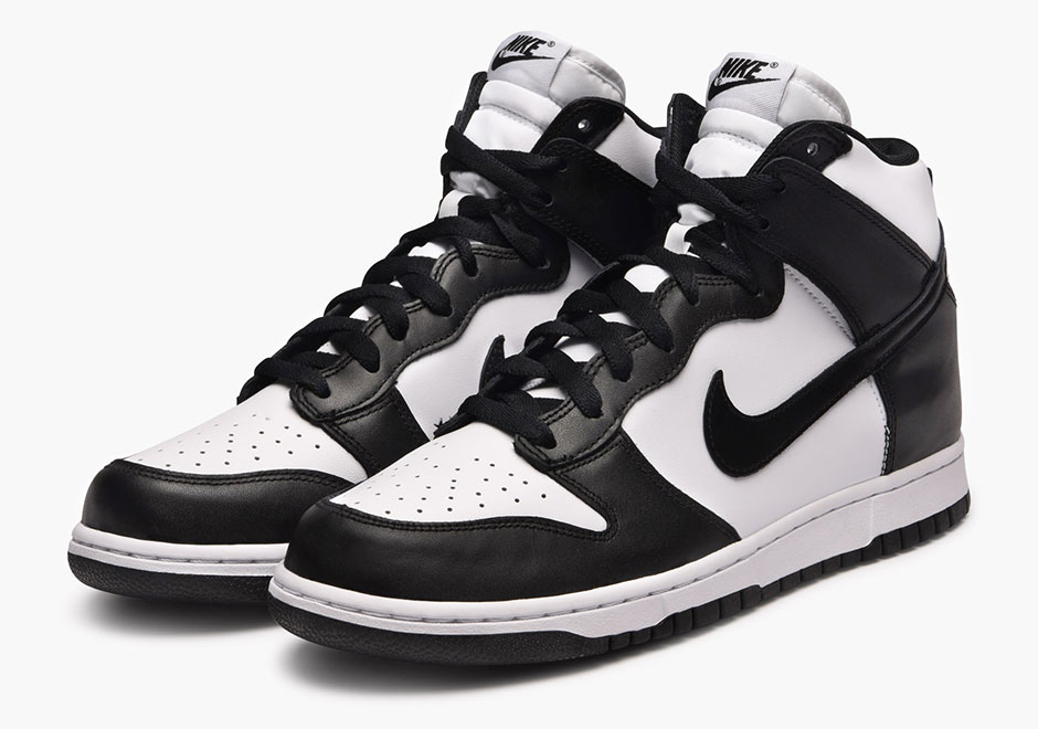 819778dbf1a0 Nike Dunk High Black White 846813-002