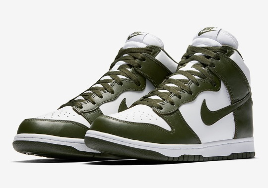 "Nike Dunk High Retro ""Cargo Khaki"""