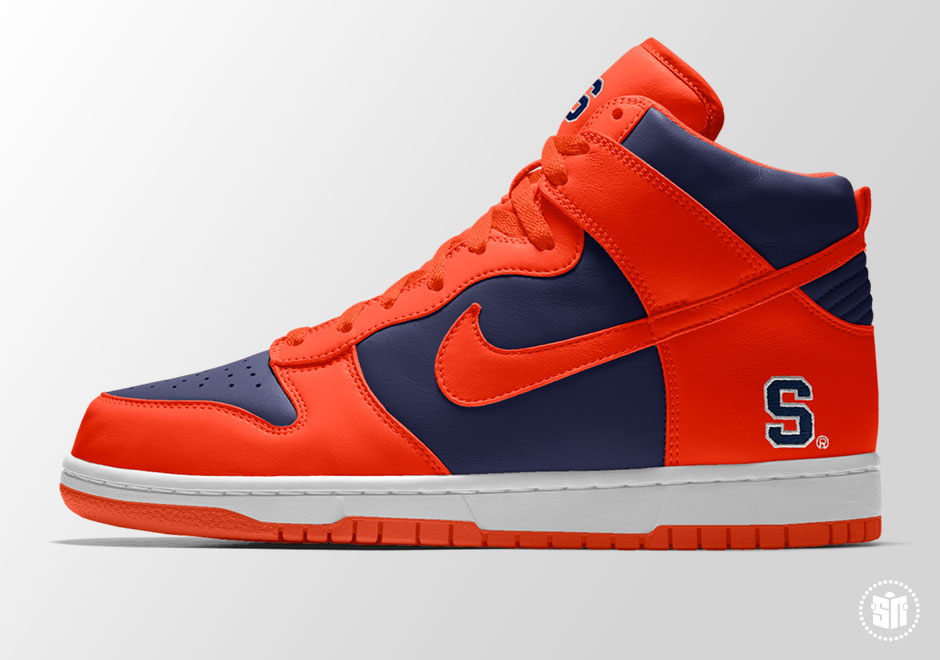 73d6f5127824 NIKEiD College Team Options Air Force 1   Dunk
