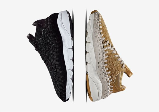 The Nike Air Footscape Woven Chukka Gets Premium Hairy Suede for Spring 2017