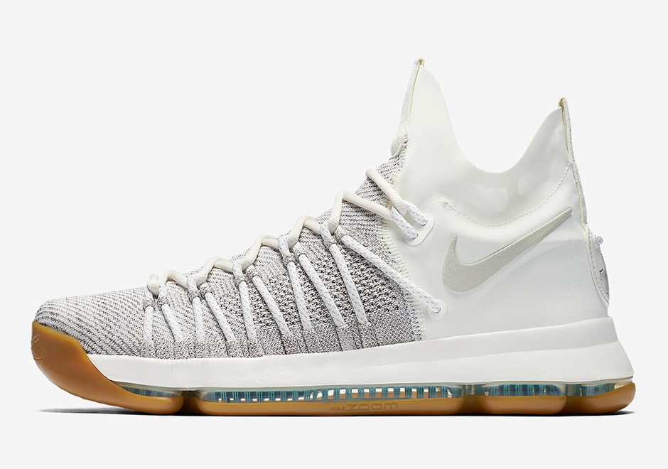Nike Kd 9 Elite Ivory 878637 001 Sneakernews Com