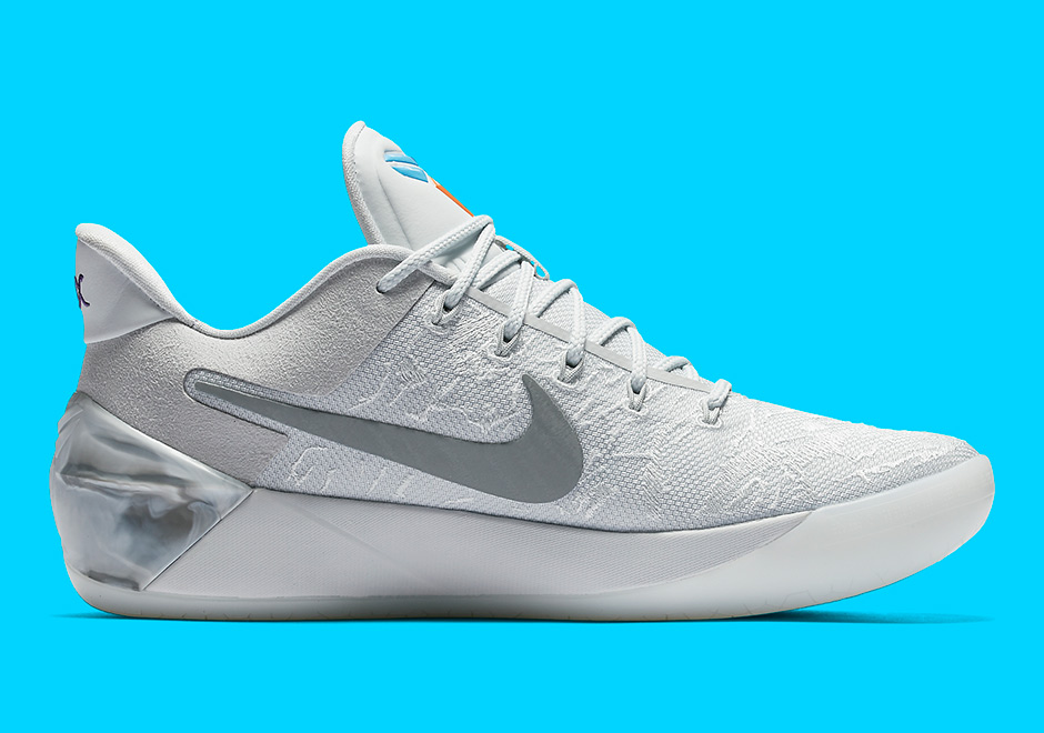 "info for 46dde 121d3 Nike Kobe A.D. ""City Of Compton"" Release Date  April 7th, 2017  160. Color  Light  Bone White Pale Grey-Vivid Sky"