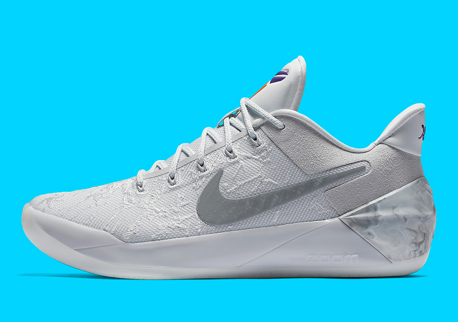"Nike Kobe A.D. ""City Of Compton"" Release Date: April 7th, 2017 $160. Color:  Light Bone/White/Pale Grey-Vivid Sky"