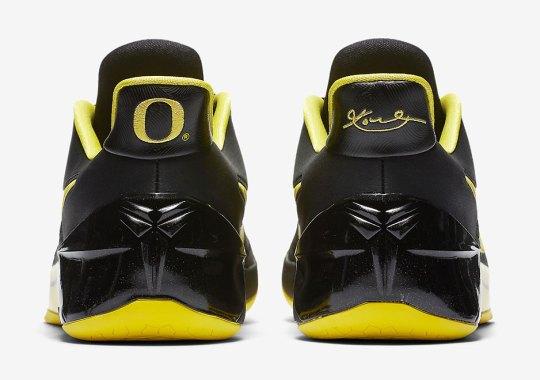 Kobe Bryant Goes To Oregon With New Nike Kobe A.D.