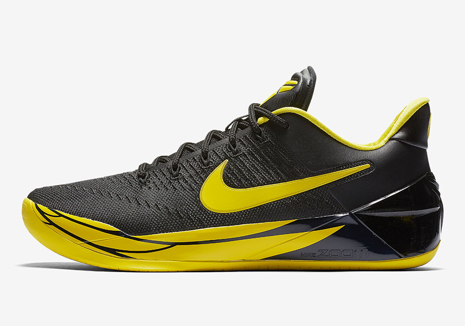 kobe bryant shoes black and yellow Sale