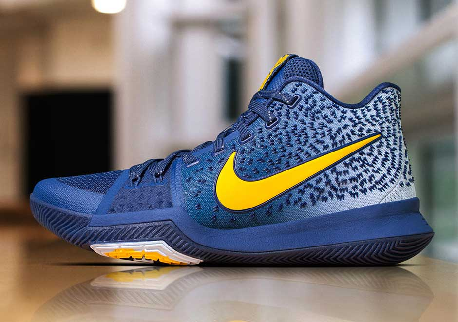 ce0dbb9f9b9 The latest Kyrie 3 PE is more Warriors than it is Cavaliers