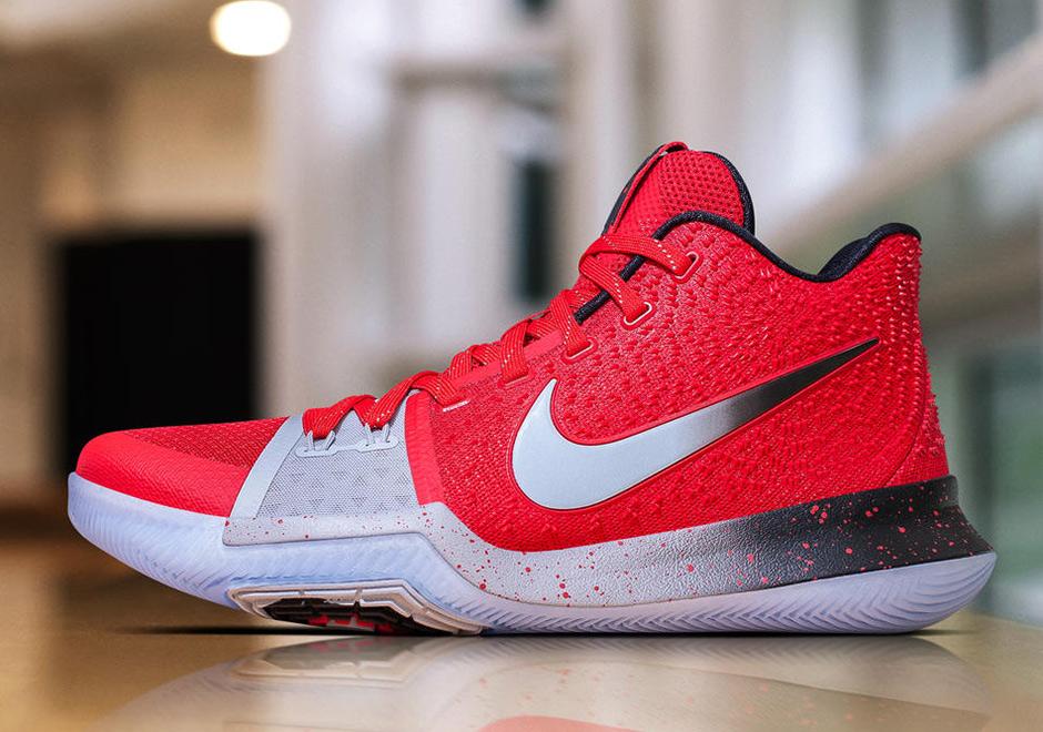 Nike Kyrei 3 PE Red Silver Black  08b74548f916