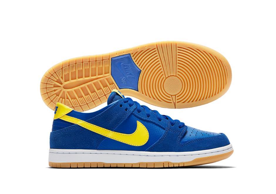 finest selection e986a ba422 Nike SB Dunk Low Boca Juniors 854866-471 | SneakerNews.com