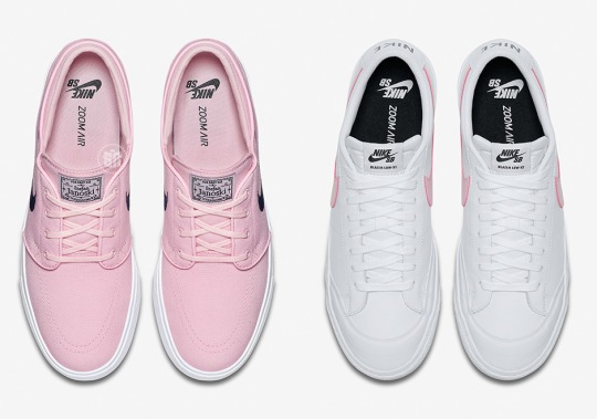 "Nike SB Releasing Classics With ""Prism Pink"""