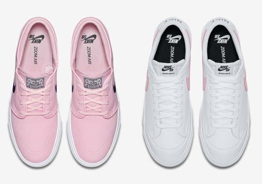 """Nike SB Releasing Classics With """"Prism Pink"""""""