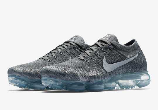 "The Nike VaporMax Releasing In ""Dark Grey"" For Men And Women"