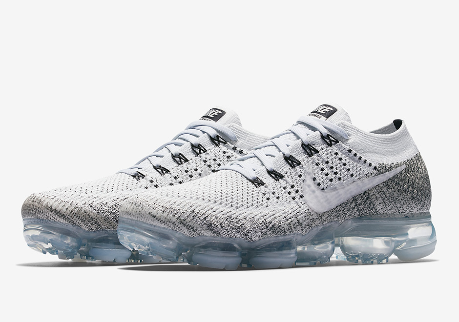 "quality design 898ae 2cb3d NikeLab Will Release The VaporMax Flyknit ""Oreo"" Soon"