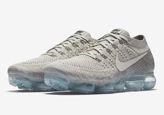 "Nike VaporMax Flyknit ""Pale Grey"""