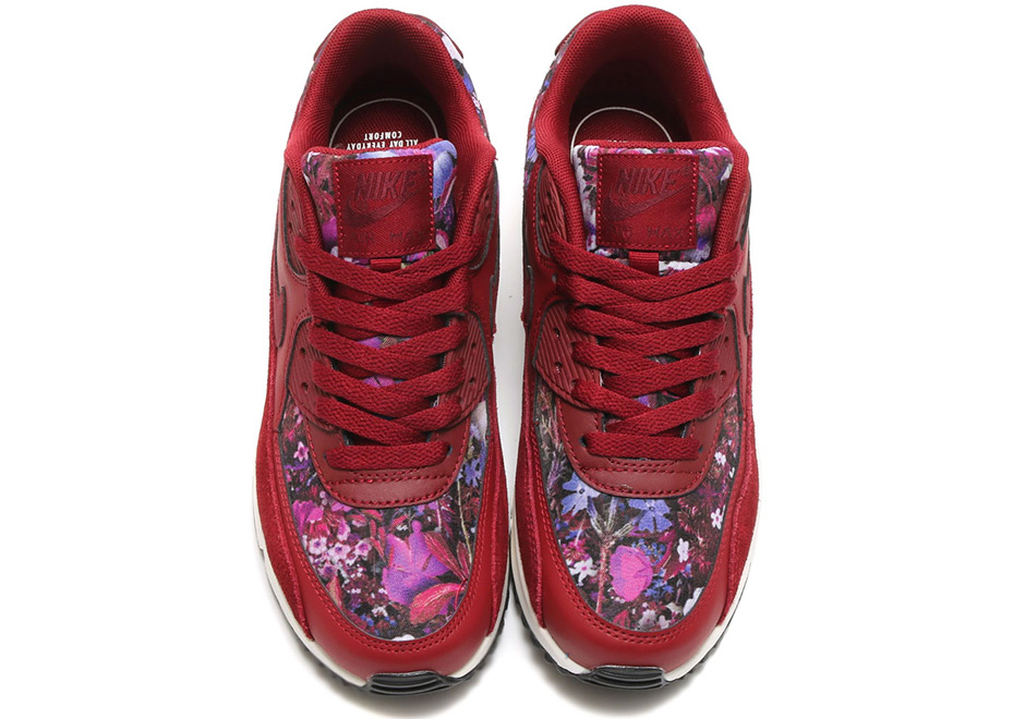 sports shoes 8f925 5ce88 Nike Air Max 90 Women's Floral 881105-600 | SneakerNews.com