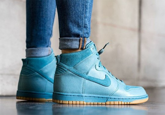 "Nike Dunk High Premium ""Smokey Blue"""