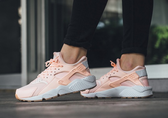"The Nike Air Huarache Releases In ""Sunset Tint"""