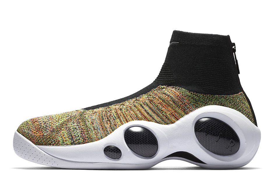 Discount Nike Zoom Flight Bonafide MULTI-COLOR Black White Hyper Crimson 917742 003 Shoe For Sale