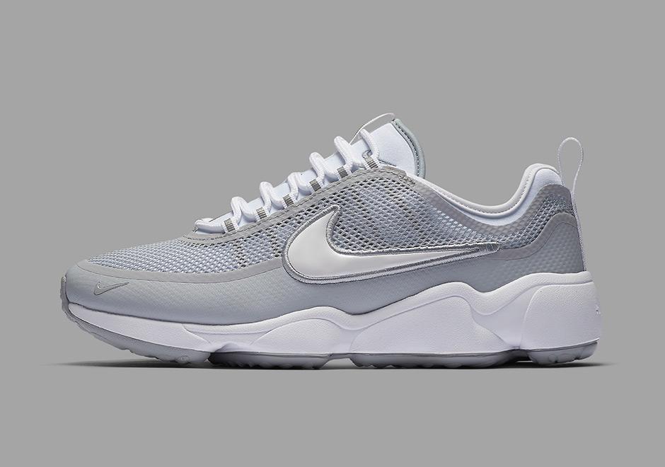 e7e92ce4eda20 Nike Zoom Spiridon Ultra  220. Color  White White-Wolf Grey Style Code   876267-100