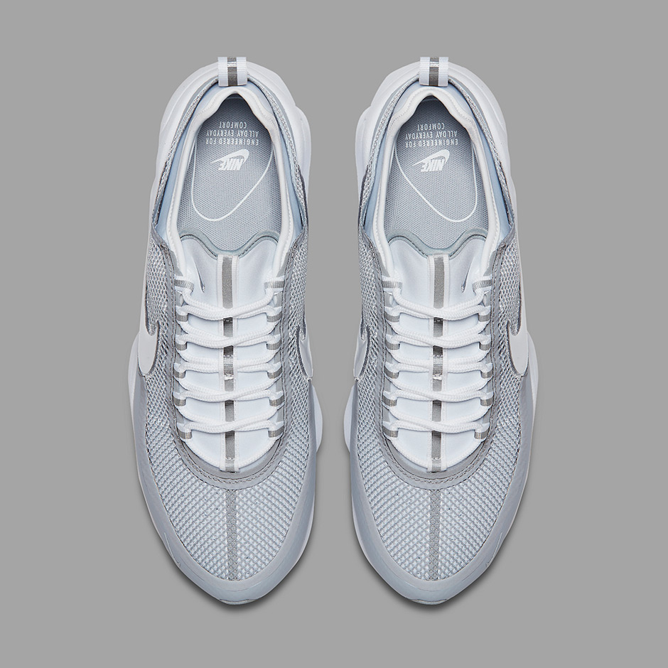 c2a37618b3a96 Nike Zoom Spiridon Ultra  220. Color  White White-Wolf Grey Style Code   876267-100. Advertisement