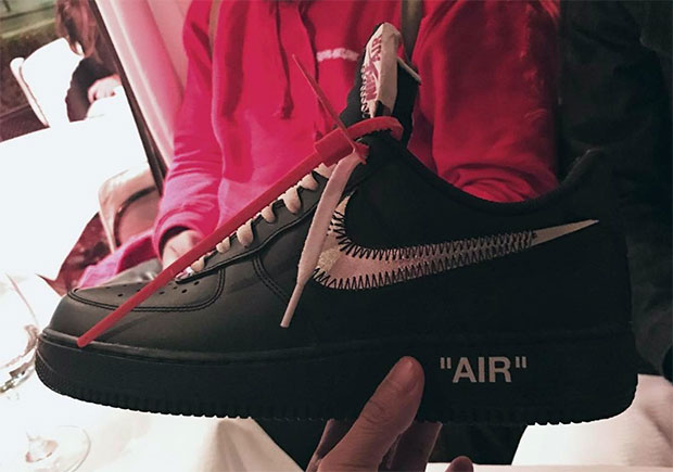 OFF WHITE Nike Air Force 1 Low More Samples |