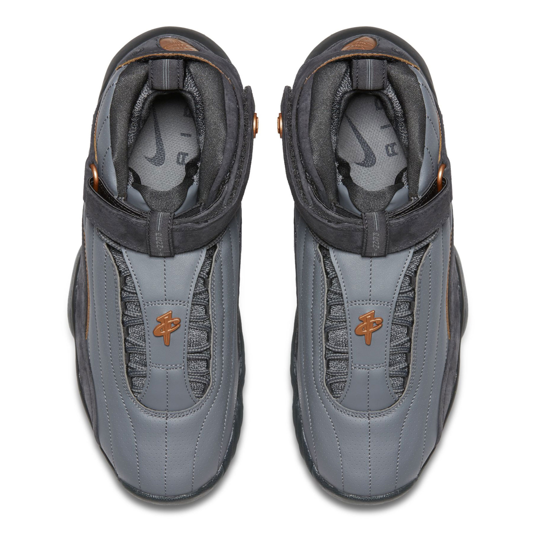 """Nike Air Penny 4 """"Copper"""" Available Now at Nike.com  160. Color  Wolf  Grey Anthracite-Metallic Copper Coin 6916521befe6"""