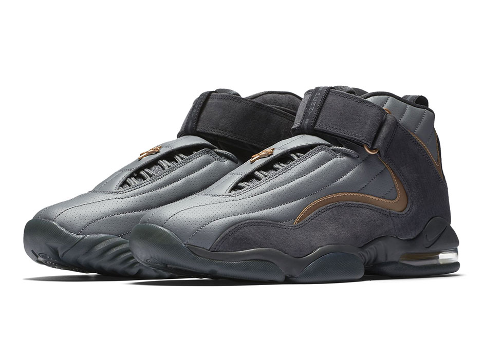 """newest 2451b d38b9 Updated March 30th, 2017 The Nike Air Penny 4 """"Copper"""" is now available  via Nike.com."""