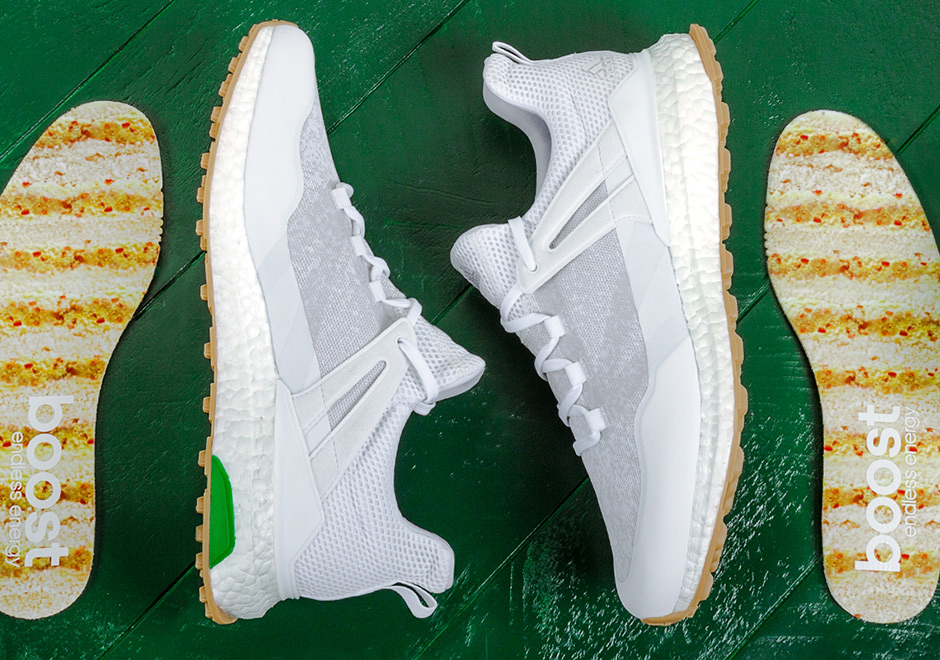 Adidas Golf Crossknit Boost Pimento Cheese Sneakernews Com
