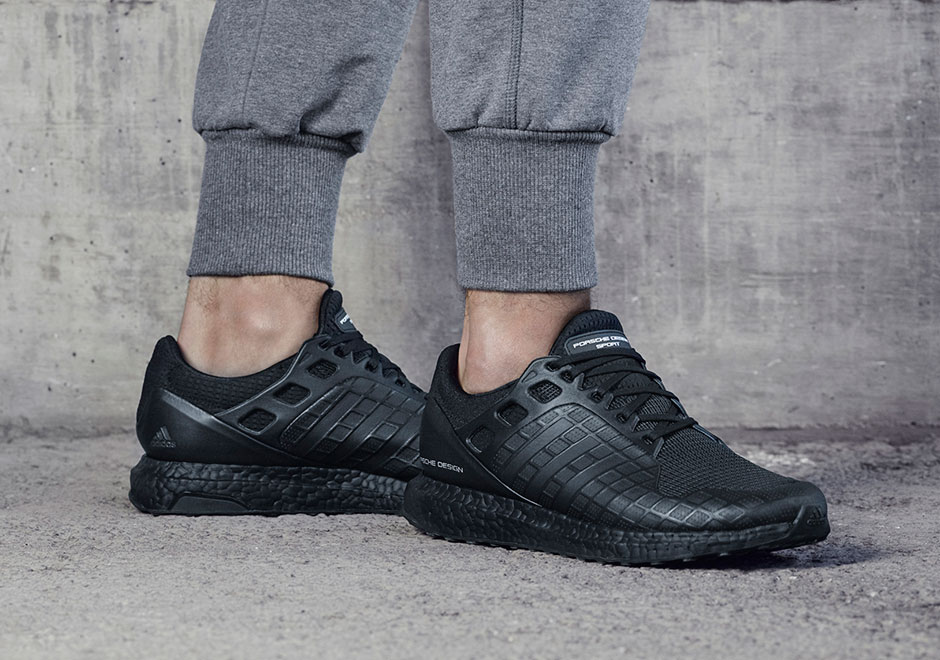 b6bff1019fb ... German engineering come together once again for a new all-black adidas  Ultra Boost by Porsche Design. The Ultra Boost was already the luxury sports  car ...