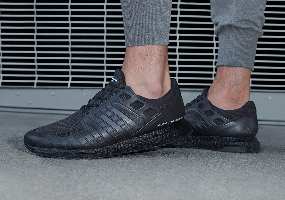 pick up d7fc5 f86ac Where to Buy Porsche adidas Ultra Boost Triple Black ...
