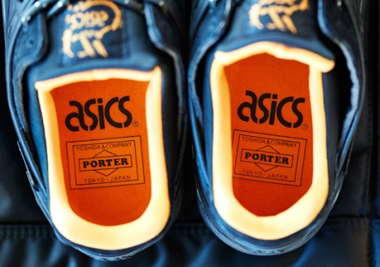 Porter And ASICS Team Up For Flight Jacket Inspired Collection