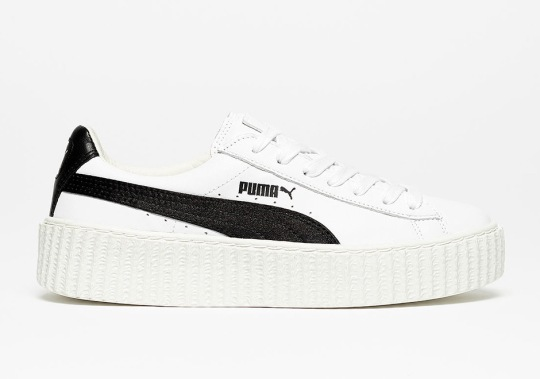 Rihanna's Puma Creeper Is Releasing In Classic White And Black