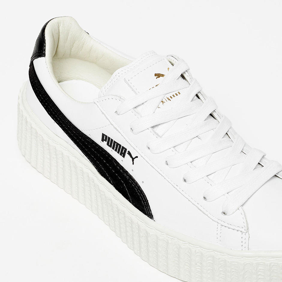 sale retailer ec814 6027b Rihanna Puma Creeper White Black 364462-01 | SneakerNews.com