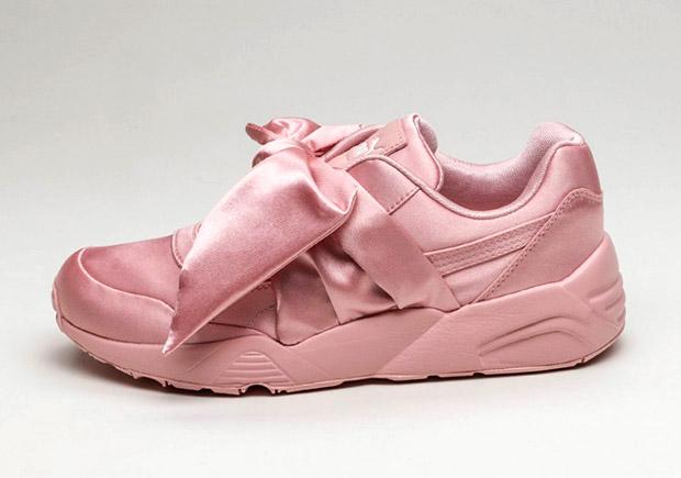 rihanna puma creepers rosa