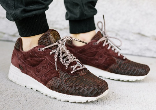 "Saucony Shadow 5000 ""Bricks"" Inspired By The Streets of Boston"