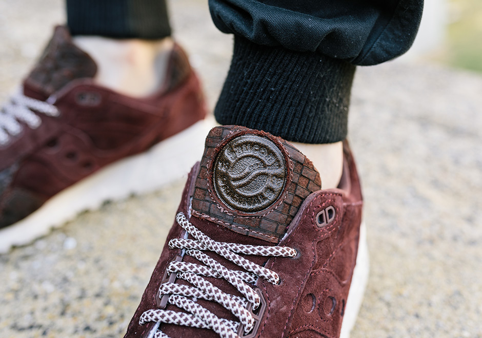 new product 1db31 b77b2 Saucony Shadow 5000 Bricks | SneakerNews.com