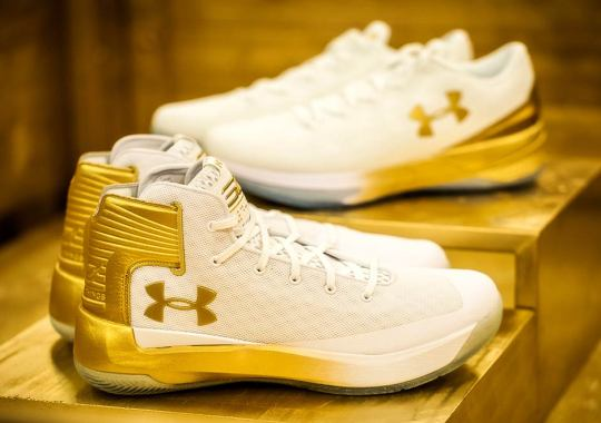 Under Armour Schools Have A Special Curry 3 Model For March Madness