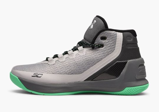 "UA Curry 3 ""Grey Matter"" Hits Stores"