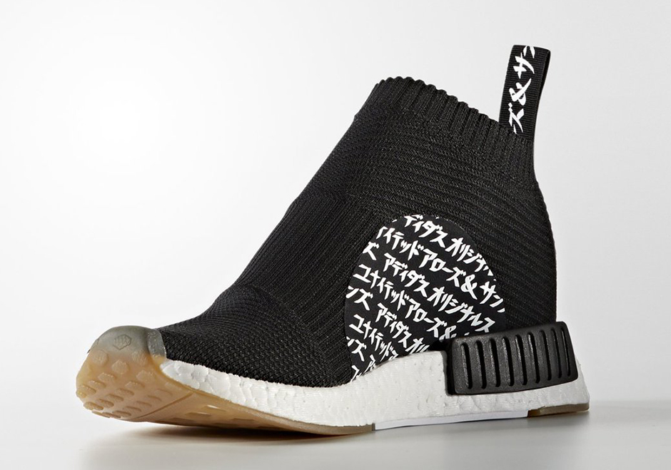 best website 25f21 996aa United Arrows & Sons adidas NMD City Sock MikiType ...